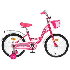 """Велосипед 18"""" Graffiti Premium Girl, цвет розовый/белый"""
