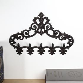 Decorative metal hooks