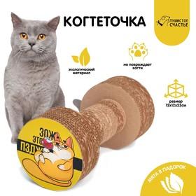 Гофрокогтеточка с кошачьей мятой в пакетике «КотоЗОЖ»