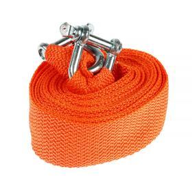 Towing rope ROSTROS 5 t, 2 brackets m10, 4.5 meters, bag