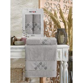 Комплект махровых полотенец в коробке METEOR Helix 50х90, 70х140 см