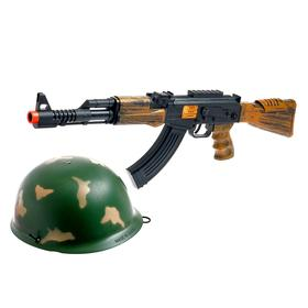 Набор военного «Отряд альфа», с АК-47