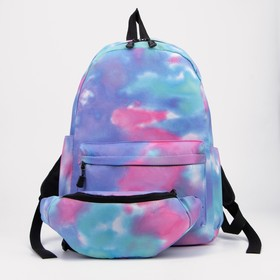 Arina's backpack, 30 * 12 * 40, zippered section, n / pocket, 2 side pockets, bag, space
