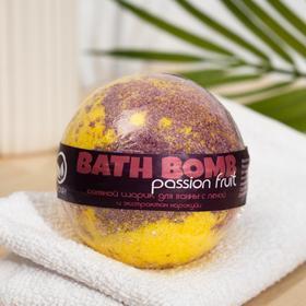 Бурлящий шар для ванн Savonry Passion Fruit, маракуйя, 100 г