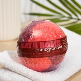 Бурлящий шар для ванны Savonry Pomegranate, гранат, 100 г