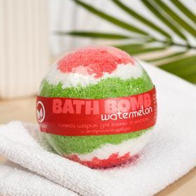 Бурлящий шар для ванны Savonry Watermelon, арбуз, 100 г