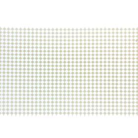 Тесьма под жемчуг, белая, пластик 12 см, в рулоне 9 метров