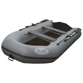 Надувная лодка FLINC FT320L, цвет графитовый