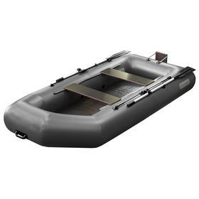 Надувная лодка «Феникс 280Т», цвет серый