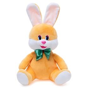 Мягкая игрушка «Заяц с бантом», 20 см, МИКС