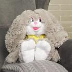 Мягкая игрушка-рюкзак «Заяц девочка», 45 см, МИКС