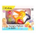 Игрушка для ванной «Голодный пеликан»