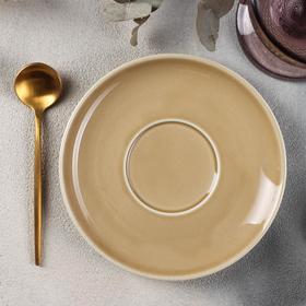 {{photo.Alt || photo.Description || 'Блюдце «Акварель», d=14,5 см, цвет золотисто-коричневый'}}