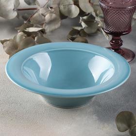 Deep plate Bashkir porcelain Estet
