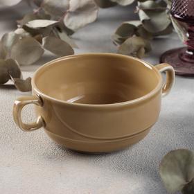 {{photo.Alt || photo.Description || 'Чашка бульонная «Акварель», 380 мл, цвет золотисто-коричневый'}}