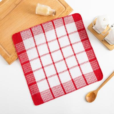 Кухонное полотенце Collorista 30*30 см, цв.красный