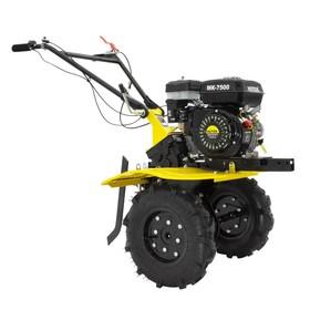 Мотоблок Huter МК-7500М, бенз., 4Т, 7.5 л.с., 5.5 кВт, 2/1 ск., шир./гл. 85/30 см + ПОДАРОК