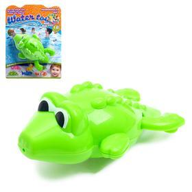 Водоплавающая игрушка «Крокодильчик», заводная