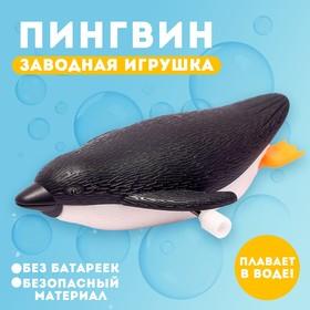 Водоплавающая игрушка «Пингвин», заводная
