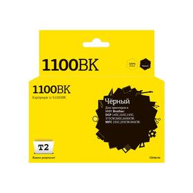 Струйный картридж T2 IC-B1100BK (LC-1100BK/980BK/1100BK) для принтеров Brother, черный Ош