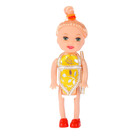 Baby doll with hair style, MIX