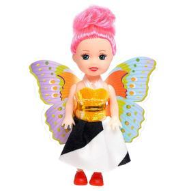Кукла малышка с крыльями, МИКС Ош