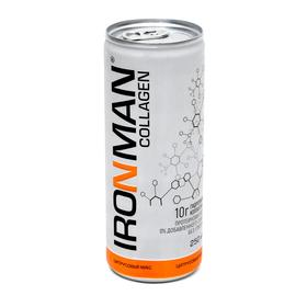 Напиток безалкогольный COLAGEN IRONMAN цитрусовый микс 250 мл