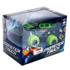 Джип радиоуправляемый «Граффити», работает от батареек, цвет зелёный - фото 107021726