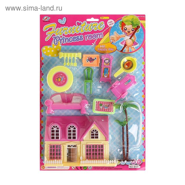 """Дом для кукол """"Мечта принцессы"""" с мебелью и аксессуарами"""