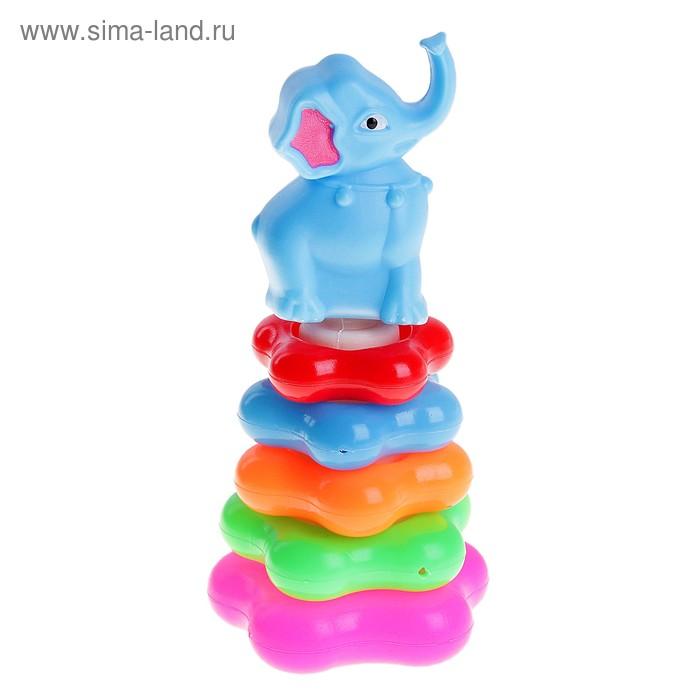 """Пирамида """"Слон"""", 5 колец"""