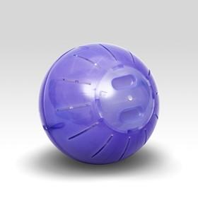 Шар для грызунов ,12 см, фиолетовый