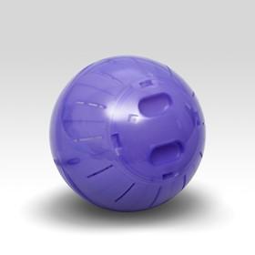 Шар для грызунов, 14 см, фиолетовый