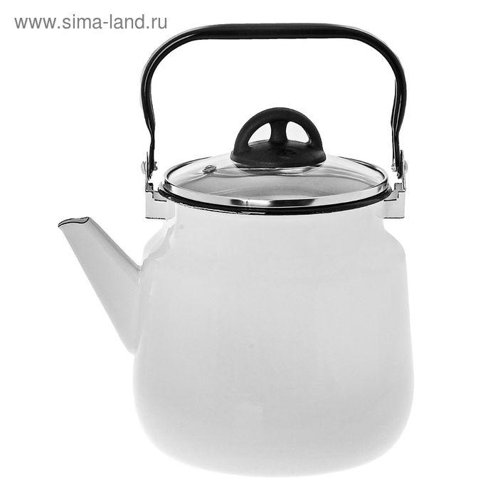 Чайник со стеклянной крышкой 3,5 л