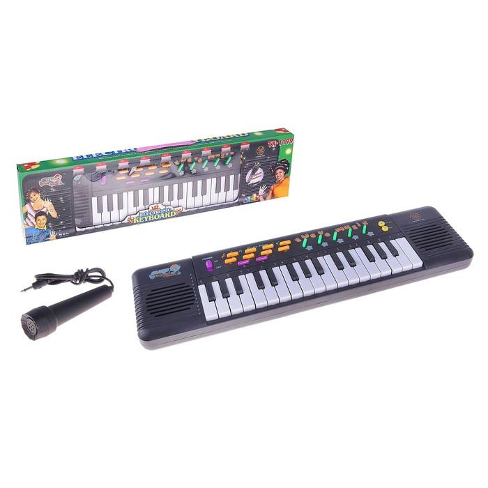 Синтезатор «Вечеринка» с микрофоном, 32 клавши