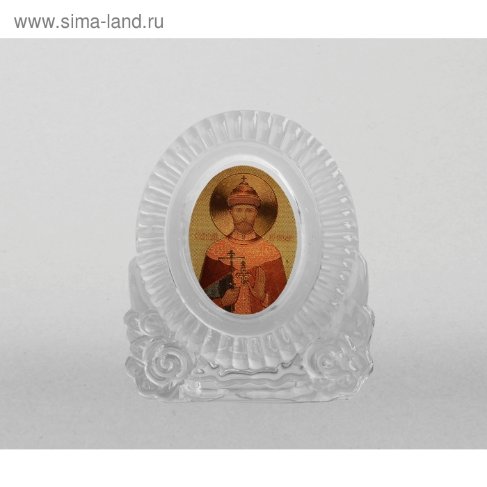 """Икона """"Святой царь- мученик Николай"""" овал"""