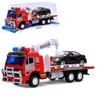 Машина инерционная «Эвакуатор», цвета МИКС - фото 106532630