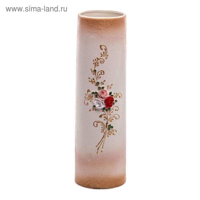 "Ваза ""Максимус"" лепка, цветы"