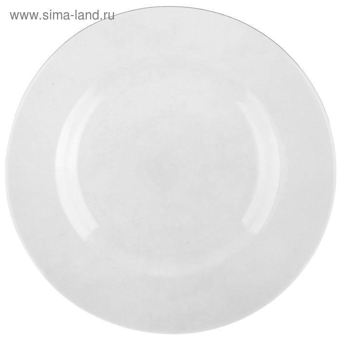 "Тарелка суповая 22,5 см ""Директор"", прозрачная"
