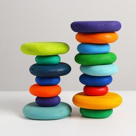 Развивающий набор речных камней «Сказка» 16 камней 23×12,5×16,5