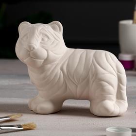 "Копилка-раскраска ""Тигр"", 19 см х 10 см х 15 см"