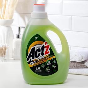 Концентрированный гель,Act'z Premium Gel,для стирки белья аромат Эвкалипта  2,7 л