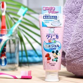 Детская гелевая зубная паста Lion Kids, со вкусом клубники, 60 г