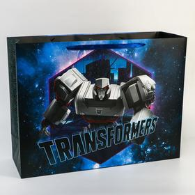 "Пакет ламинат ""Transformers"", 61х46х20 см, Transformers"