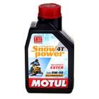 Моторное масло MOTUL Snowpower 4T 0W-40, 1 л