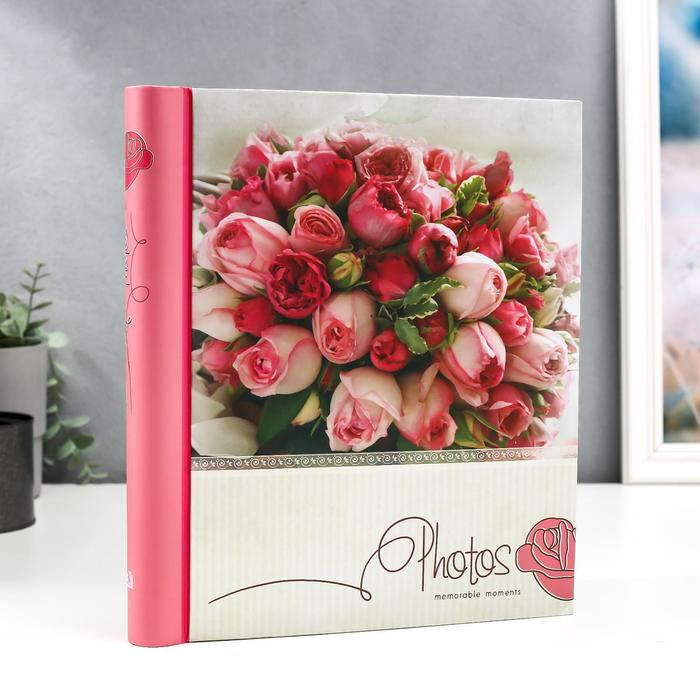 """Фотоальбом магнитный 10 листов """"Розовый букет"""" - фото 865718"""