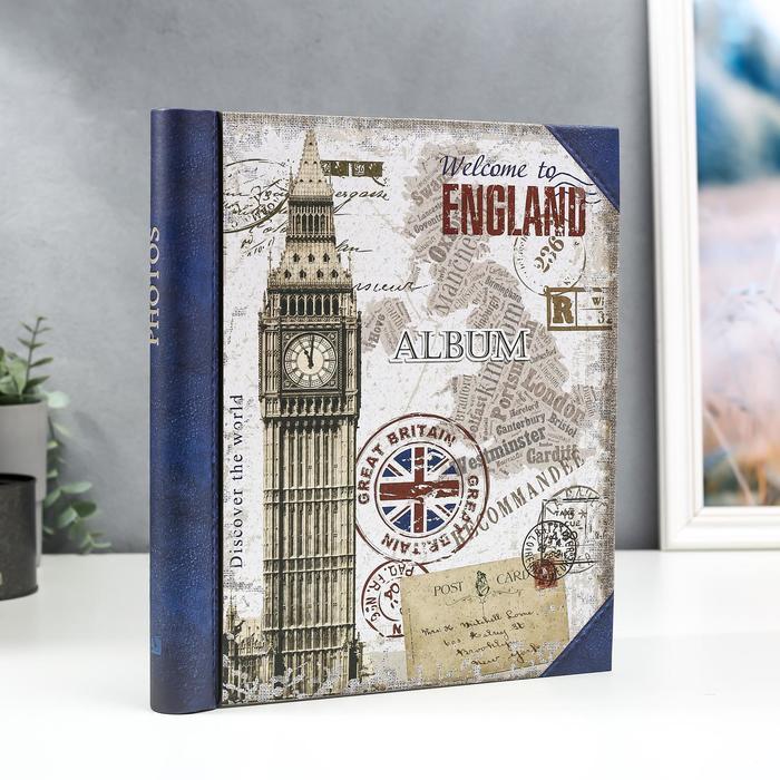 """Фотоальбом магнитный 30 листов """"Англия"""" - фото 866066"""