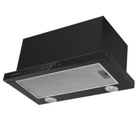 Вытяжка Maunfeld Ts Touch 60 Glass Black, встраиваемая, 1000 м3/ч, 3 скорости, 60 см, чёрная