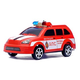 Машина инерционная «ДПС», цвета МИКС