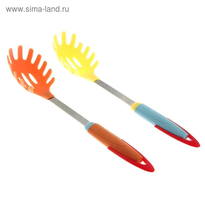 """Ложка для спагетти 35 см """"Ирия"""", цвета МИКС"""