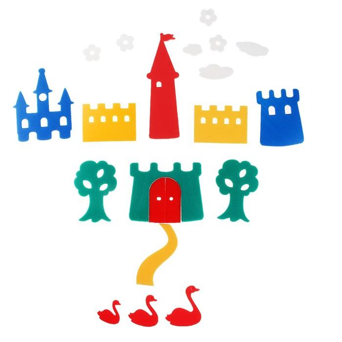 Мягкая мозаика «Замок» для купания